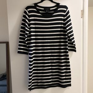 Striped Sweater Dress   Forever 21   New w/ Tags